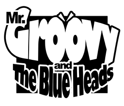 Mr Groovy&The Blueheads logo